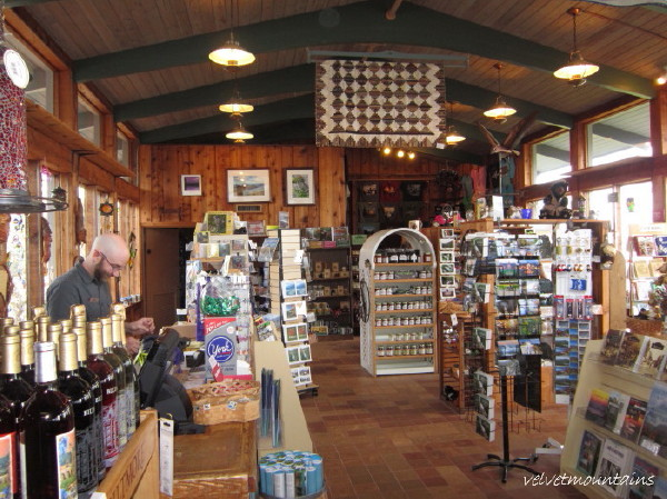 Picture of inside of Gift Shop