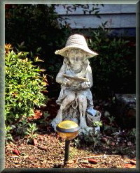 "picture of outside ornament named ""Little Lady"""