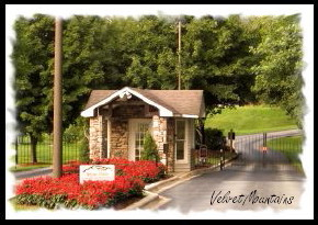 Picture of The Entrance Gate to The Hills At Avery's Creek