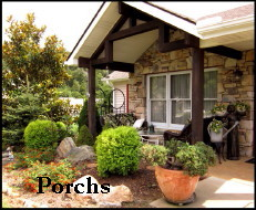 Picture of Porch with nice scrubs